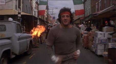 Rocky Running Scene 3