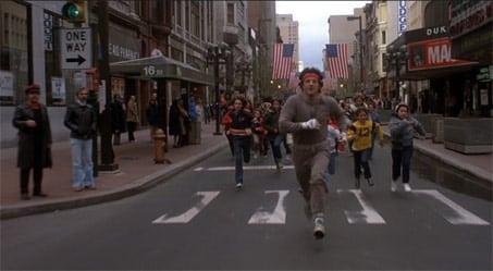 Rocky Running Scene 6