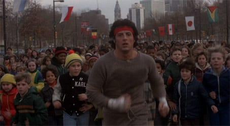 Rocky Running Scene 8