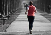 runner black and white