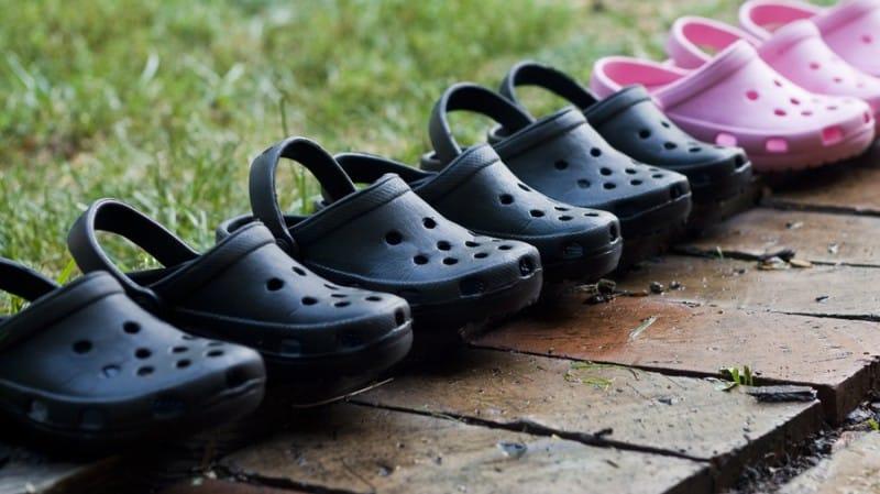 Running Crocs