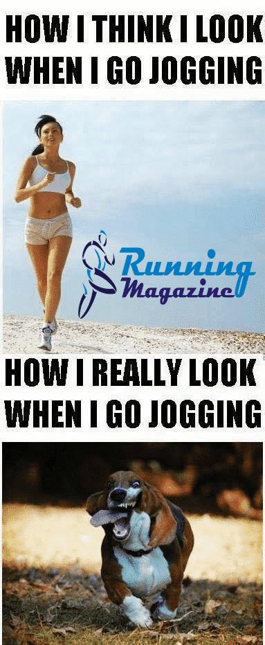 running funny