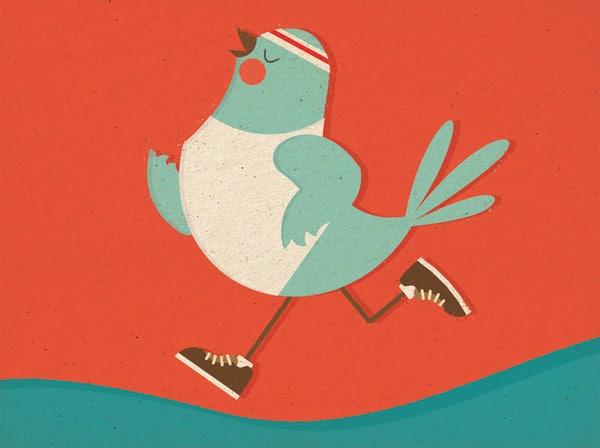 twitter running