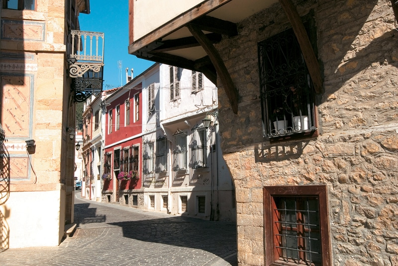 xanthi old city trail