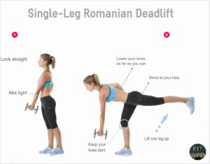 Single-leg-romanian-deadlift