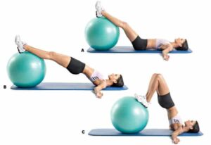 Swiss Ball Hip Raise