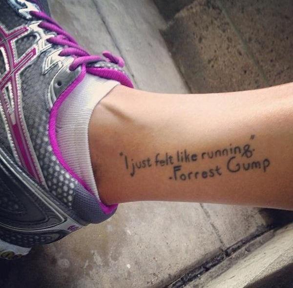 Running Tattoo 1