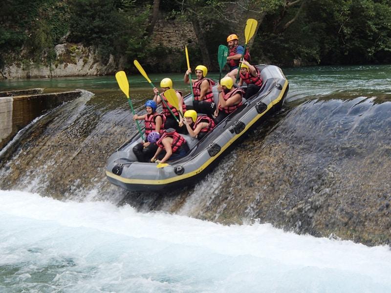 rafting voidomatis 1