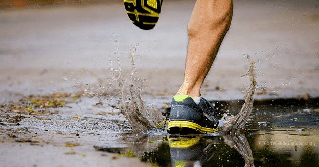 running foot