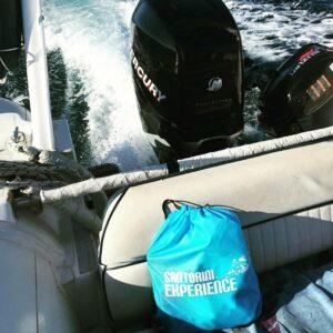 O Mr Wilson στον κολυμβητικό αγώνα - 2η ημέρα Santorini Experience