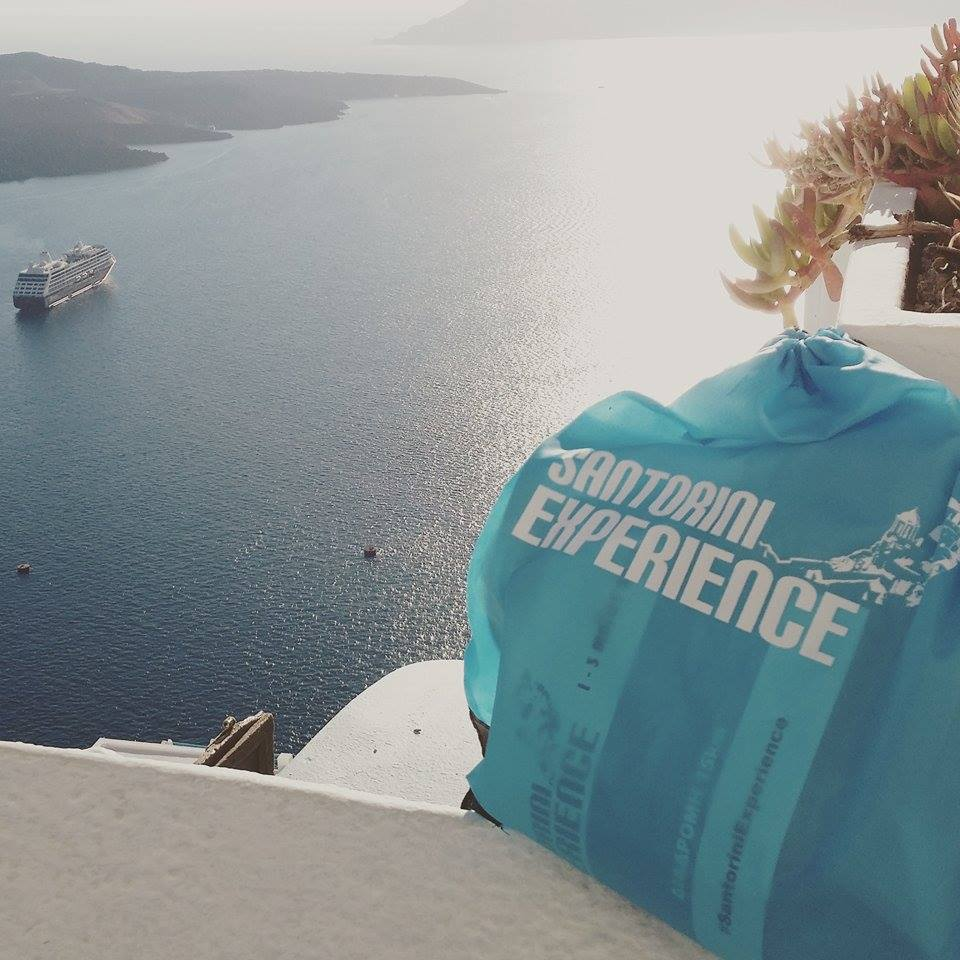 santorini experience the bag story