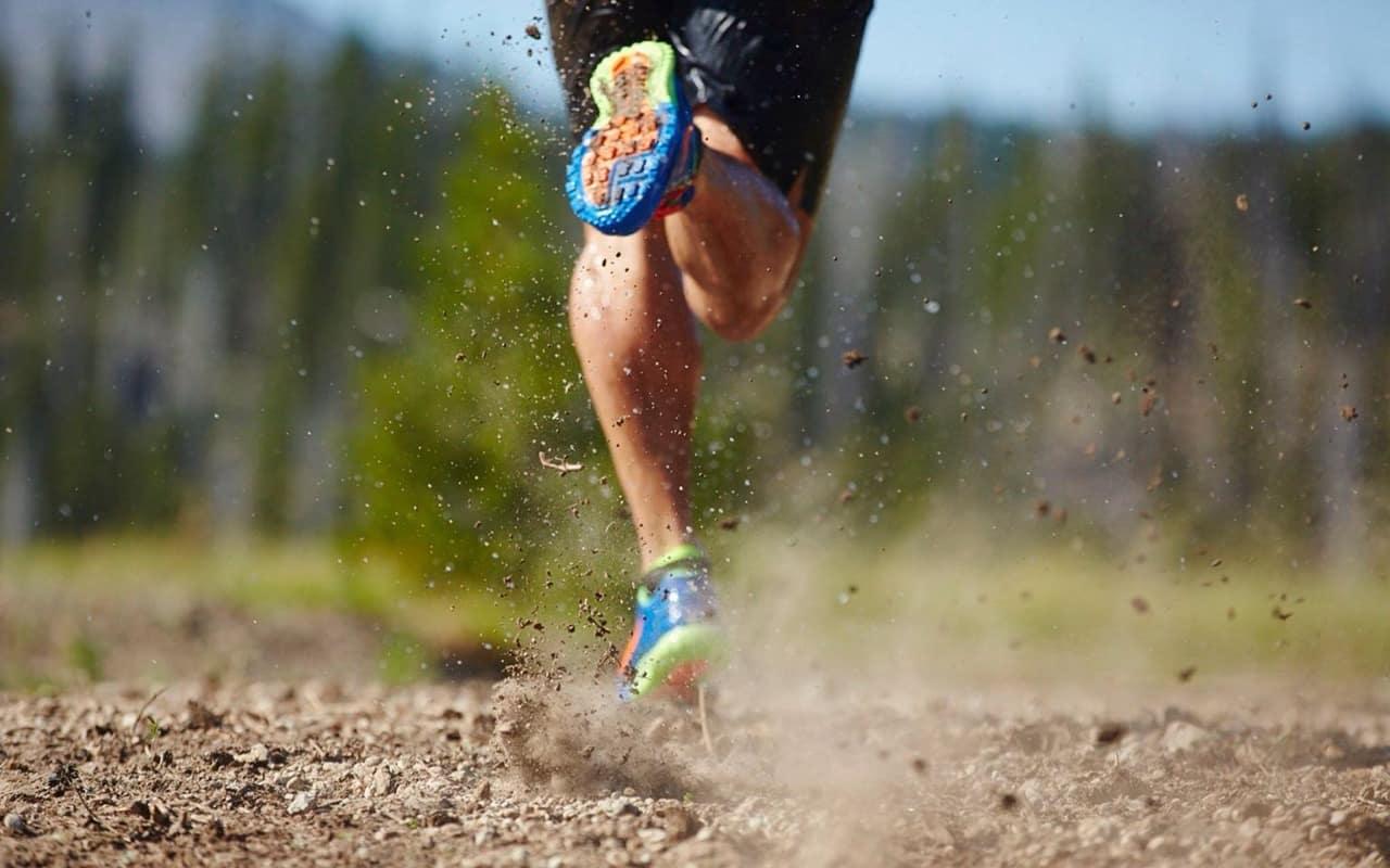 trail running photo