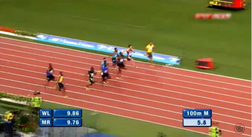 gatlin vs bolt