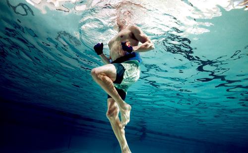 Τρέξιμο σε πισίνα