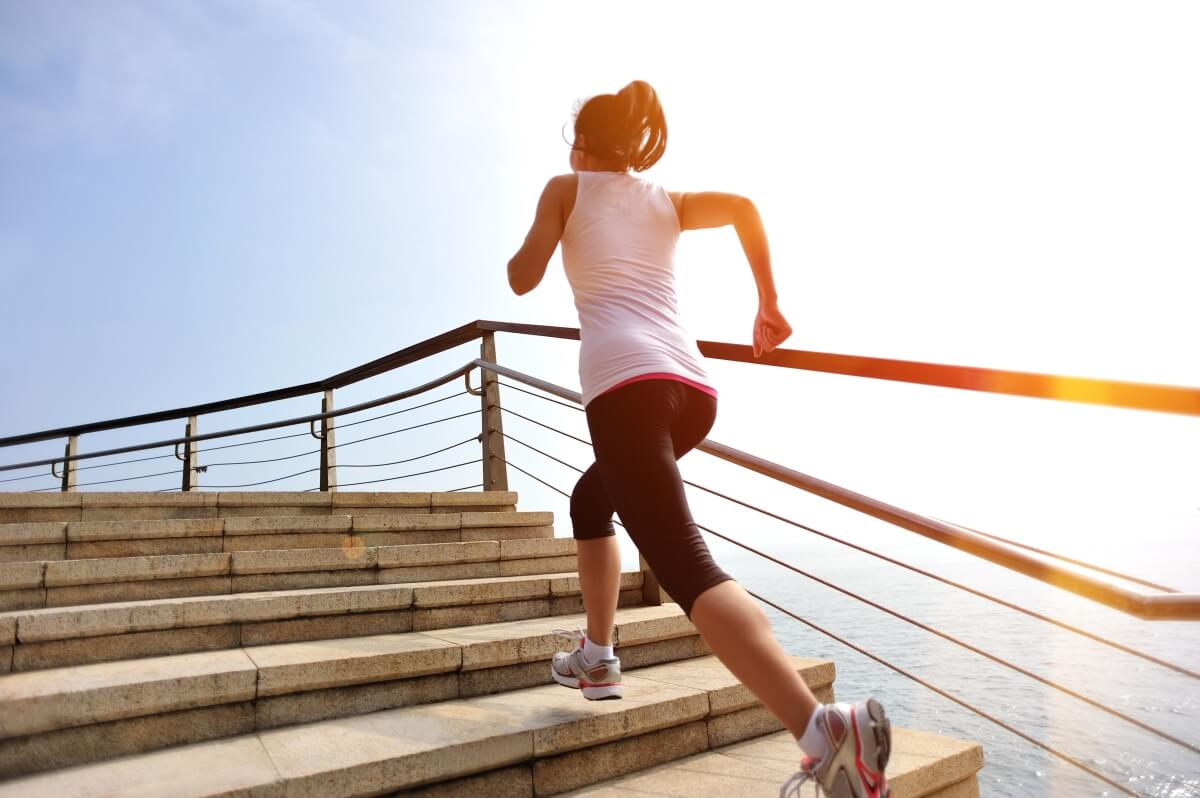 weight loss running stairs