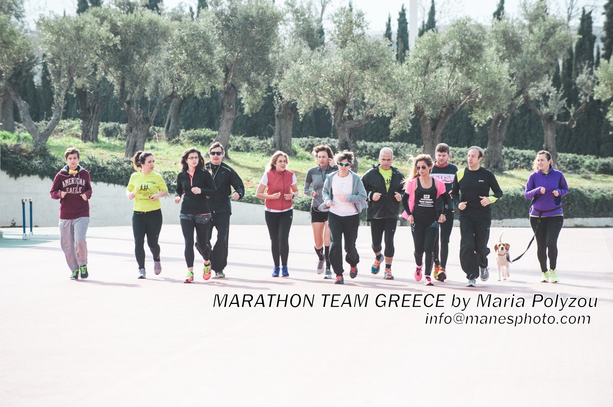 maria polyzou marathon team greece