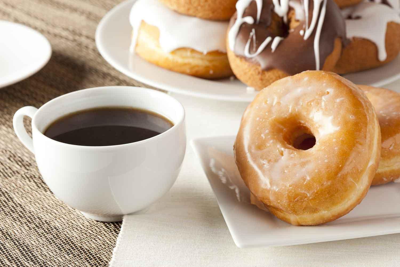 tasty donuts coffee