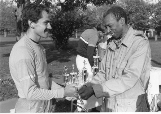 Με τον Κόρμπιτ στον μαραθώνιο Sri Chinmoy
