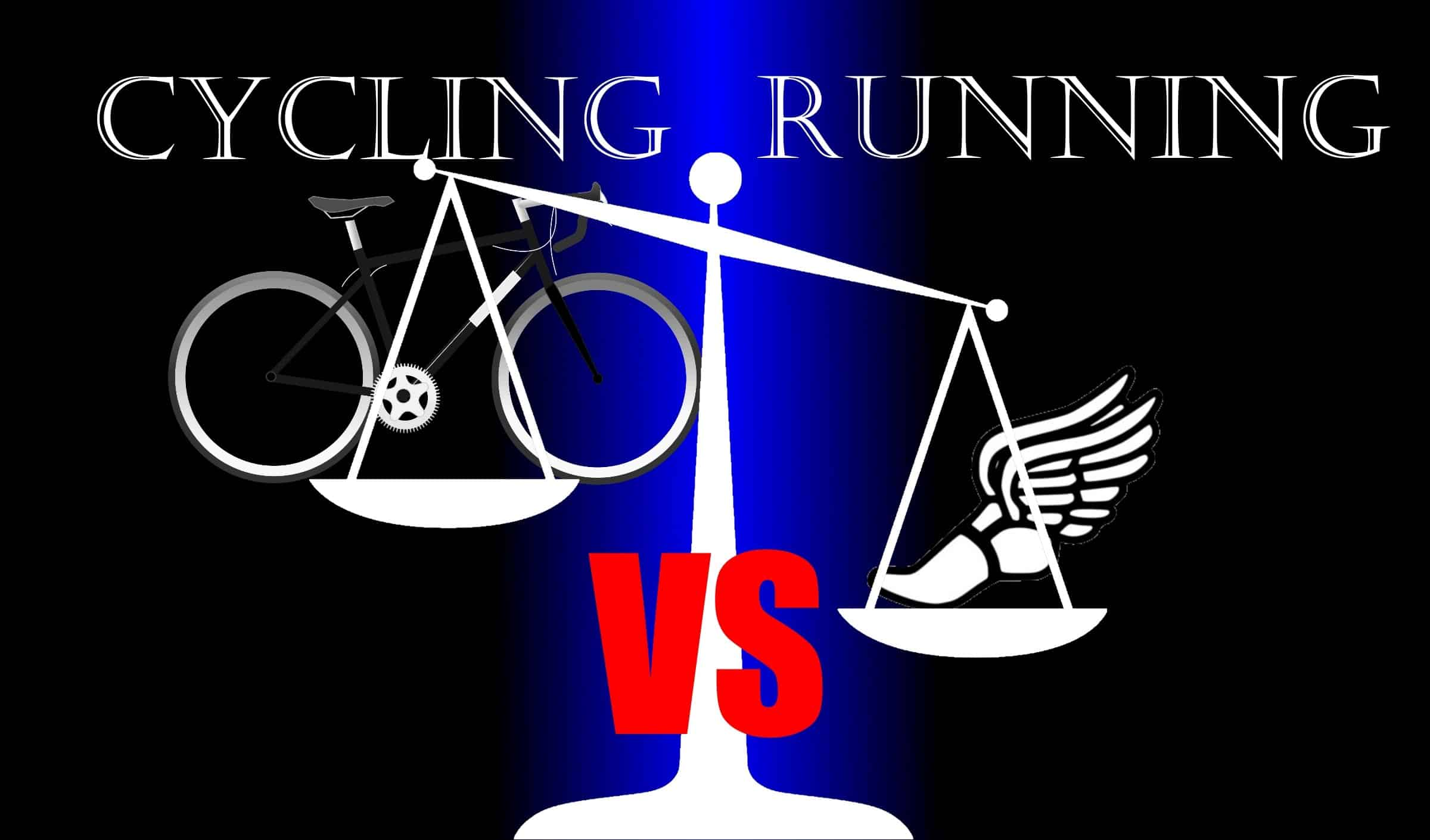 cycling running