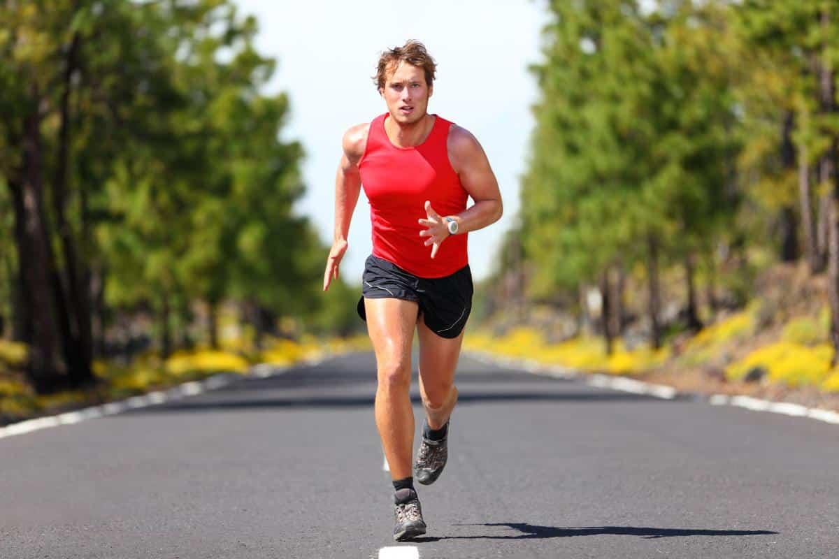 5 km running dude