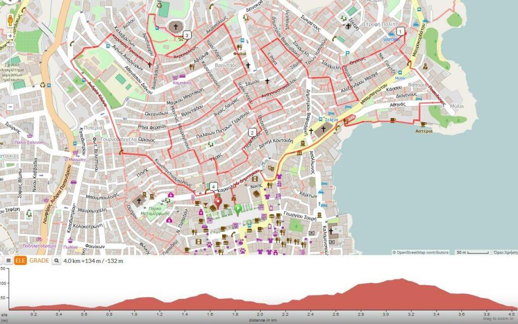 Syros City Trail - Διαδρομή 10 km