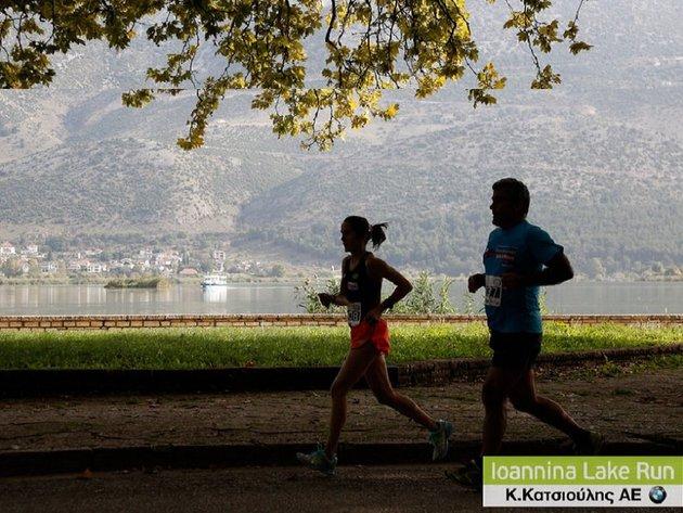 ioannina lake run 2015