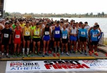 double road race thessaloniki athlites