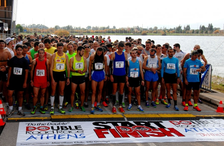 double road race thessaloniki athlites