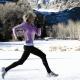 Προπόνηση ταχύτητας στο κρύο