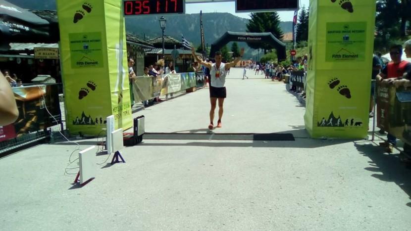Αποτελέσματα Metsovo Ursa Trail 2016