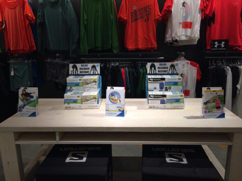 Το ActiPatch στο δρομικό κατάστημα Runner Store