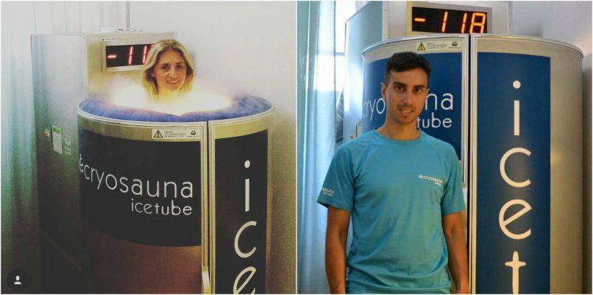 Οι πρωταθλητές επιλέγουν Cryosauna Icetube στη Γλυφάδα