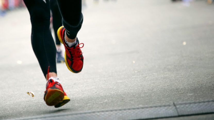 Προσγείωση του ποδιού στο τρέξιμο