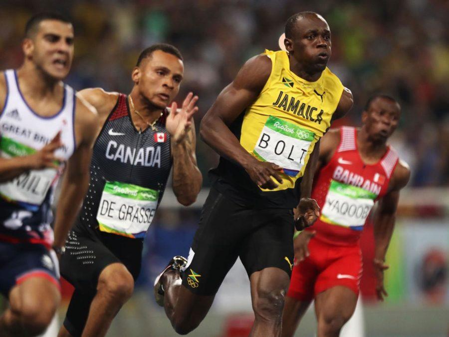 Η κούρσα του τελικού των 200m στο Rio 2016