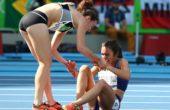 Ρίο: H συγκινητική στιγμή που δύο αθλήτριες αδιαφορούν για τα μετάλλια και βοηθούν η μία την άλλη