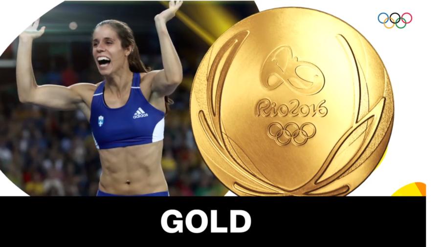 Χρυσή η Κατερίνα Στεφανίδη – Το χρυσό μετάλλιο στο άλμα επί κοντώ