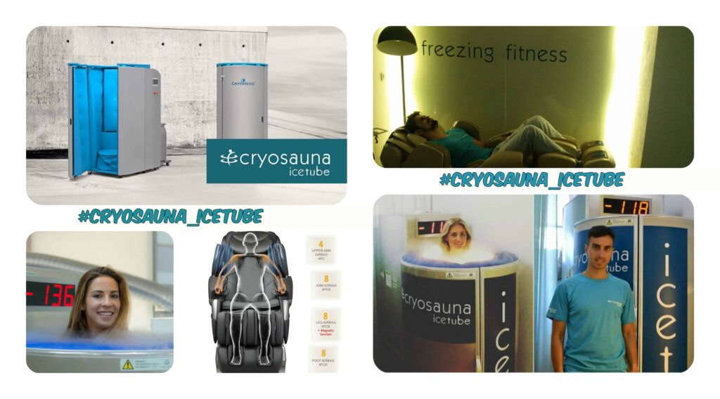 collage cryosauna