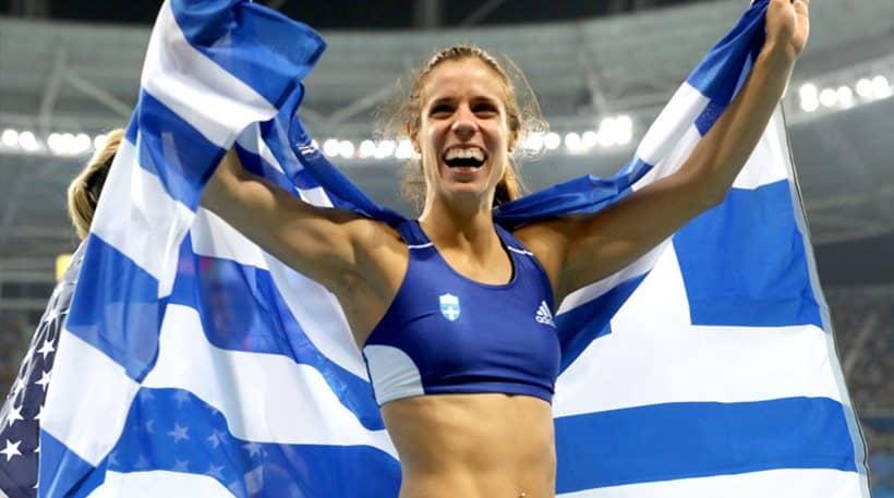 Στην τελική 3άδα για την κορυφαία αθλήτρια της χρονιάς η Στεφανίδη