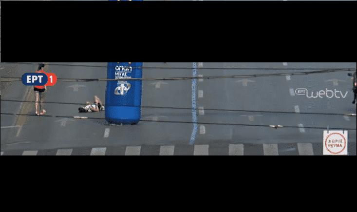 Κατέρρευσε η 3η Γυναίκα 300 μέτρα πριν τον τερματισμό