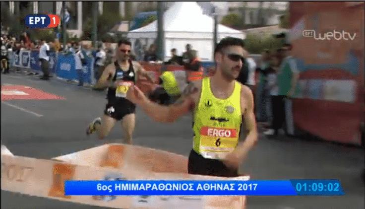Ο μεγάλος νικητής του Ημιμαραθωνίου της Αθήνας