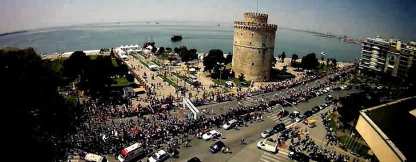 Ο μεγάλος νικητής του Μαραθωνίου Μέγας Αλέξανδρος στη Θεσσαλονίκη