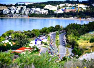 run the lake vouliagmeni